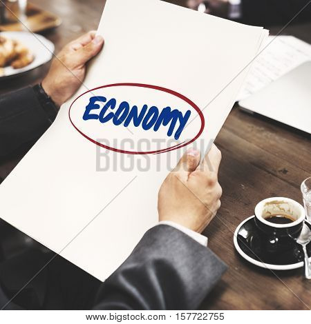 Economy Banking Budget Costs Currency Profit Concept