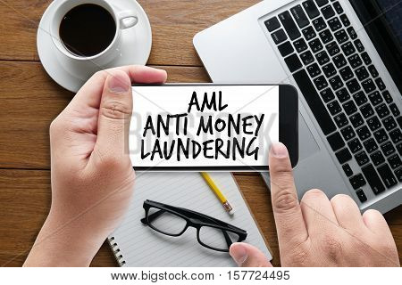 Business Acronym AML Anti Money Laundering abbreviation, accounting, acronym, aml, anti, asphalt,