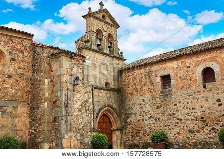 Caceres San Pablo convent in Spain Extremadura