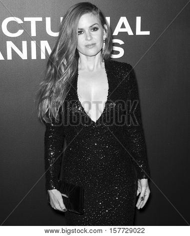 Nocturnal Animals Film Premiere Nyc - Arrivals