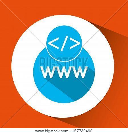 web development www page coding vector illustration eps 10