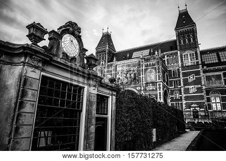 The Rijksmuseum is a Netherlands national museum dedicated to arts and history in Amsterdam. The museum is located at the Museum Square in the borough Amsterdam South close to the Van Gogh Museum.