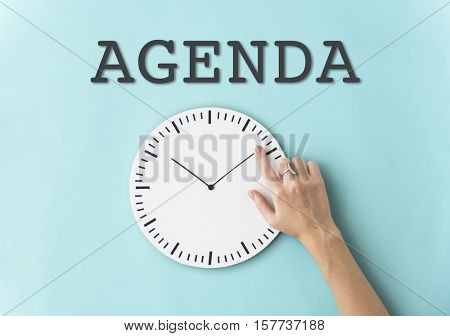 Schedule Alarm Clock Time Concept