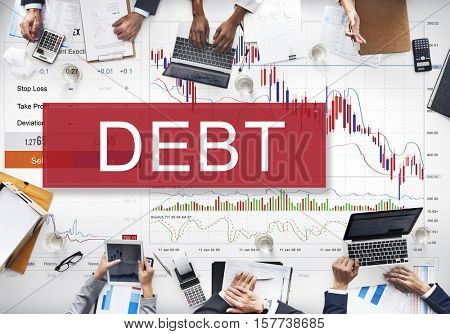Debt Obligation Banking Finance Loan Money Concept