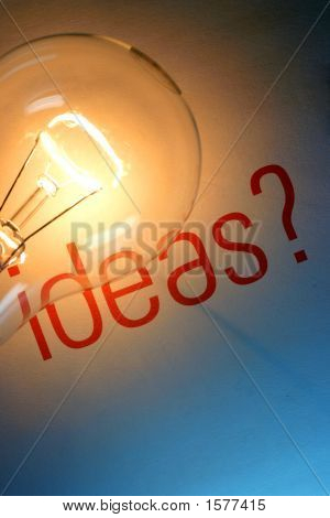 Ideas With Lightbulb