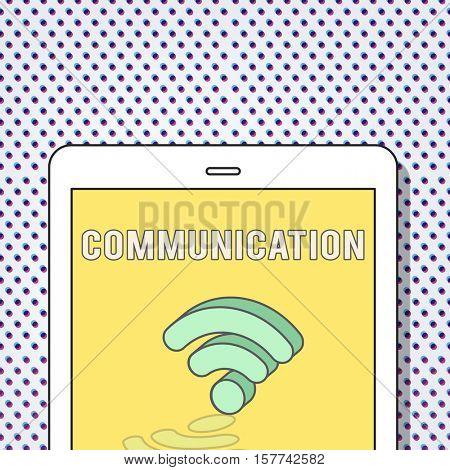 Communication Connection Technology Internet Concept