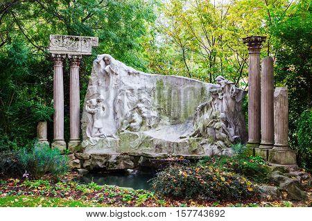 Historic Monument In Paris, France