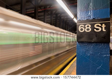 68Th Street Subway Station
