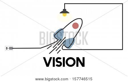 Vision Startup Plan New Business Entrepreneur Concept