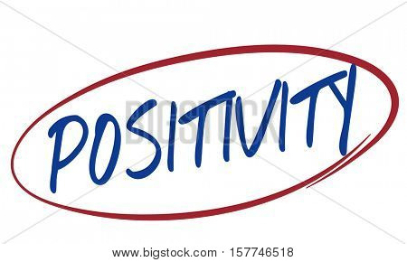 Positivity Attitude Choice Focus Happiness Concept