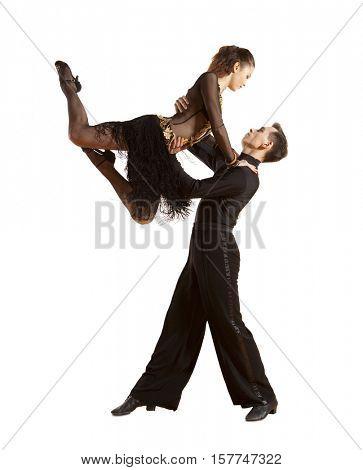 Dance beautiful couple dancing ballroom dancing