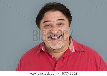 American Men Laugh Smile Concept
