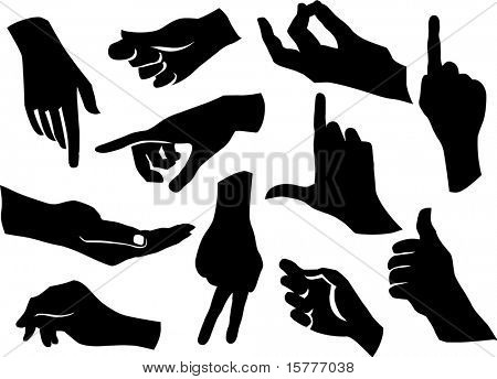 collections of many hands