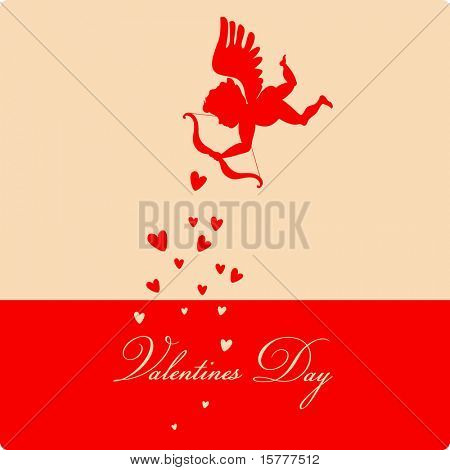 happy Valentines day - greeting card