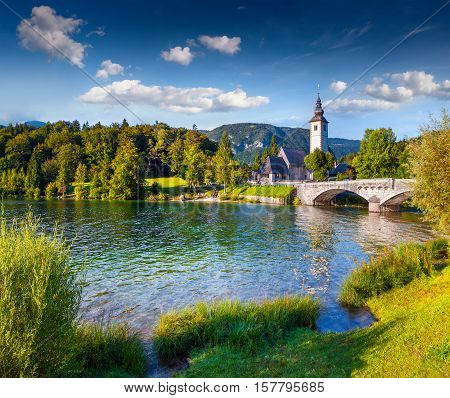 Church Of St John The Baptist, Bohinj Lake,