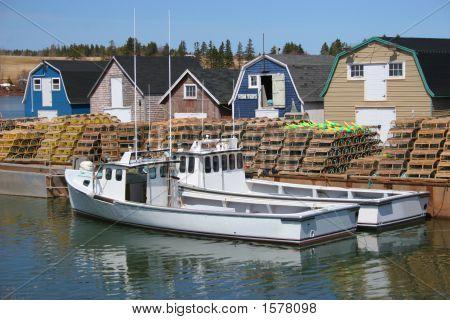 Lobster Fishing Boats
