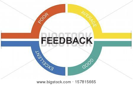 Customer Service Feedback Comment Graphic Concept