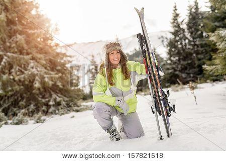 Skier Girl