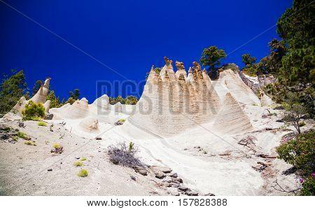 Fancy Rock Formations Paisaje Lunar