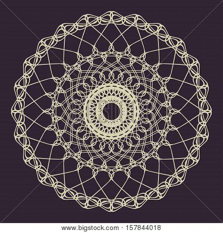 Guilloche Ornament Decorative Rosette Element