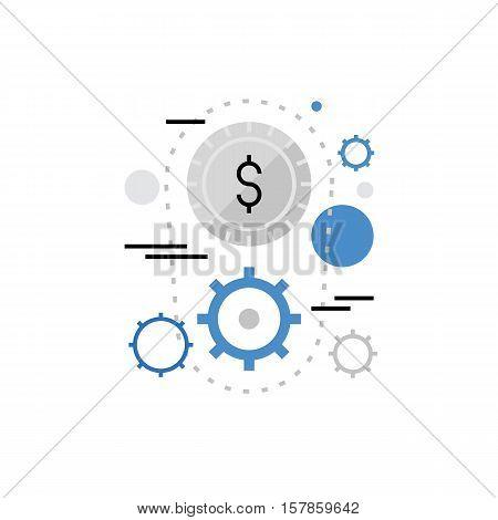 Money Making Monoflat Icon.