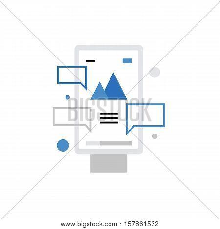 Advertising Board Monoflat Icon.