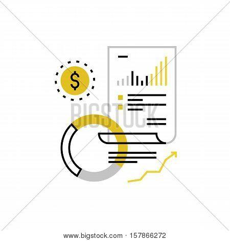 Finance Accounting Monoflat Icon.