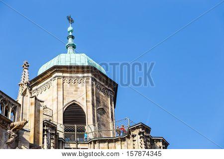 Vienna, Austria, October 15, 2016:  Stephansdom (st. Stephen Cathedral) On Stephansplatz In Vienna,