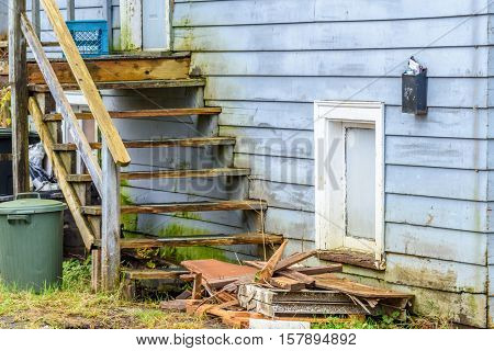 An Old House in Disrepair
