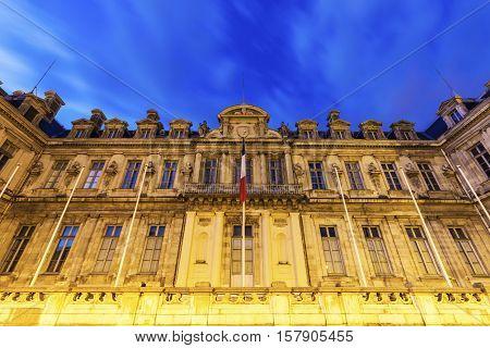Prefecture de l'Isere on Place de Verdun in Grenoble. Grenoble Auvergne-Rhone-Alpes France.