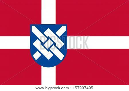 Flag of Greve is a municipality in Denmark in Region Sjælland on the island of Zealand.