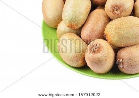 Green Kiwi Fruit (actinidia Deliciosa)