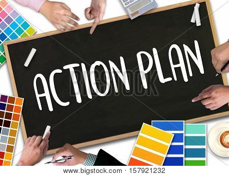 Action Plan ,  Action Plan Strategy Vision Planning , Creative Development Process Action Plan , Act