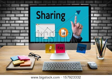 Sharing (sharing Share Social Networking Connection Communication ) Share Your Story! , Business Tea