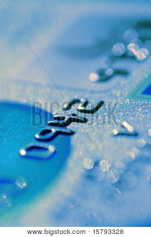 Credit card digits