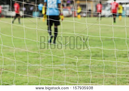 Football Nets Lacking