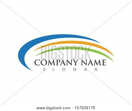 C Letter Faster Logo template vector icon design