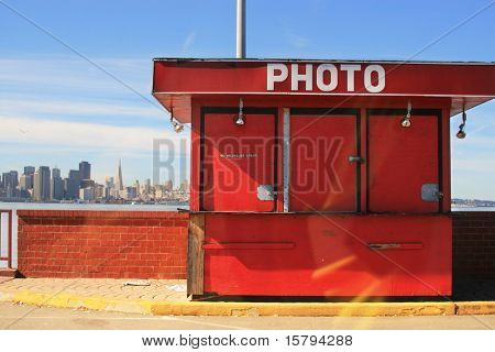 Photo bungalow. San Francisco, California, USA
