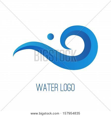 Water Gradient Logo