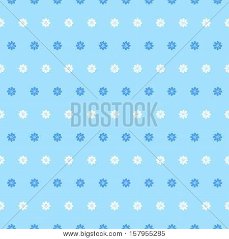 Vector blue floral texture pattern.Watercolor floral pattern.Blue flowers pattern.Seamless pattern can be used for wallpaperpattern fillsweb page backgroundsurface textures