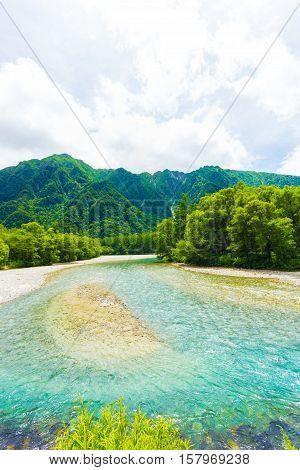 Kamikochi Azusa River Nature Japanese Alps V