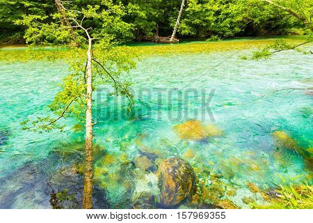 Kamikochi Turquoise Azusa River Water Nature H