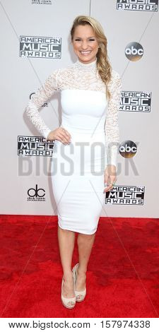LOS ANGELES - NOV 20:  Chelsea Briggs at the 2016 American Music Awards at Microsoft Theater on November 20, 2016 in Los Angeles, CA