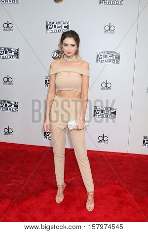 LOS ANGELES - NOV 20:  Jess Bauer at the 2016 American Music Awards at Microsoft Theater on November 20, 2016 in Los Angeles, CA