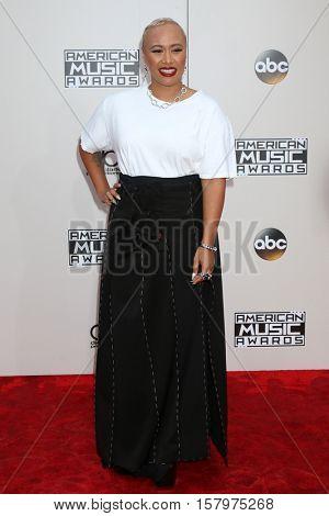 LOS ANGELES - NOV 20:  Emeli Sande at the 2016 American Music Awards at Microsoft Theater on November 20, 2016 in Los Angeles, CA