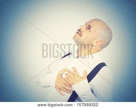 Male Heart Pain.