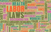 Labor Laws in the Workplace as Concept poster