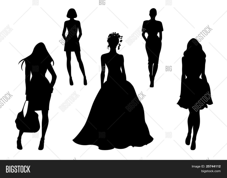 Fashionable Women Vector Photo Free Trial Bigstock