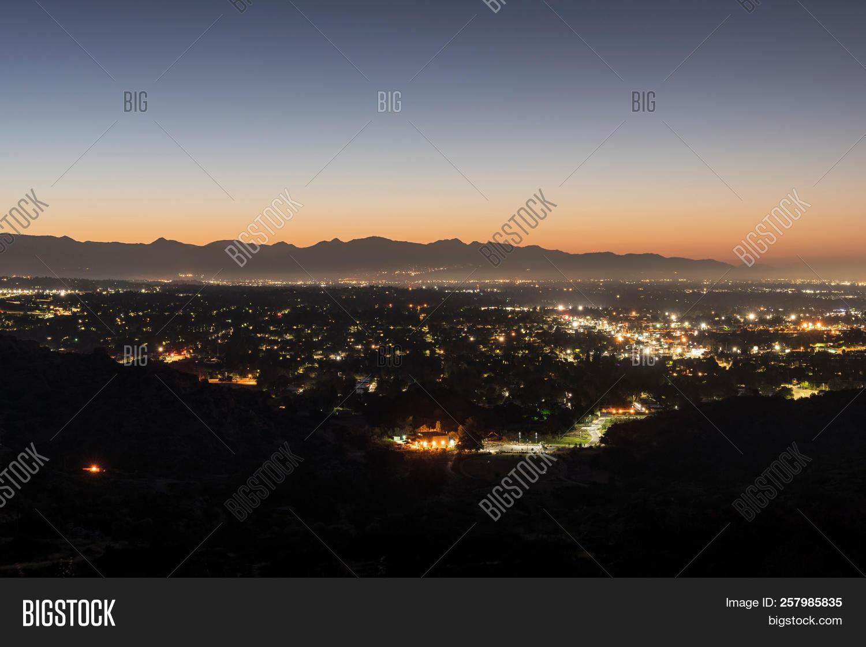 Dawn View Los Angeles Image & Photo (Free Trial) | Bigstock