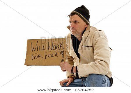 Man Homeless